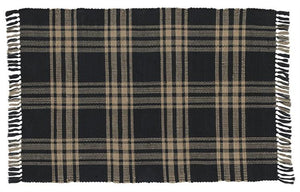 Sturbridge Black Rectangle Rug 36x60""