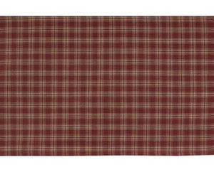 Sturbridge Wine Unlined Short Panel Curtains 63""