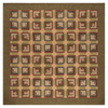 Tea Cabin Quilt - Primitive Star Quilt Shop