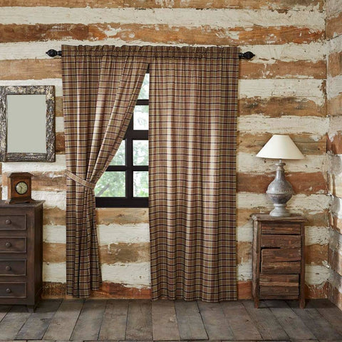 Wyatt Lined Panel Curtains 84""