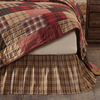 Wyatt Bed Skirt in 3 SIZES - Primitive Star Quilt Shop
