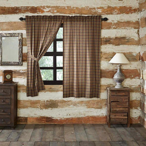 Wyatt Lined Short Panel Curtains 63""