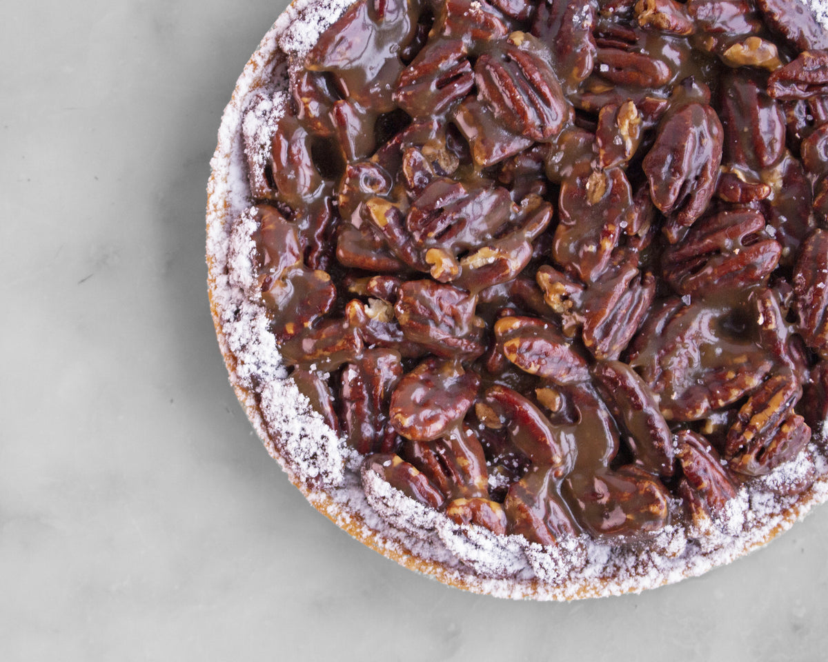 Bourbon Maple Pecan Tart