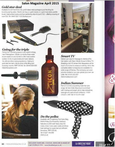 Well accredited Salon Magazine talks about their new favorite 3 in 1 hairbrush the 3Styler!