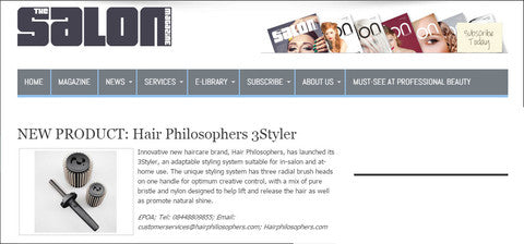Well accredited The Salon Magazine talks about their new favorite 3 in 1 hairbrush the 3Styler!