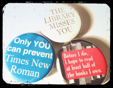 Pinback Buttons Humorous