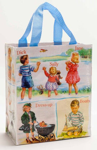 Dick & Jane handy tote