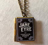 Jane Eyre Locket Necklace - Charlotte Bronte
