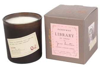 Library Candle - Jane Austen