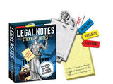 Legal Notes Sticky Notes