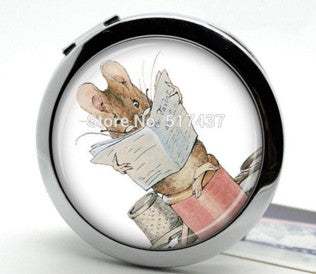 Reading Mouse - Compact Mirror