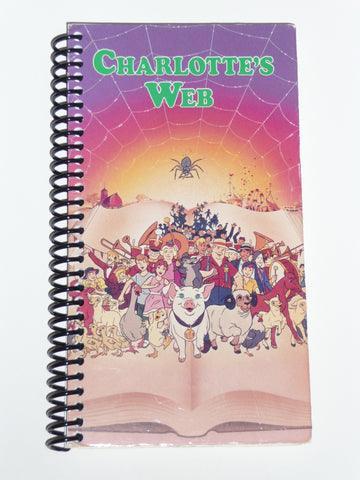Charlotte's Web - VHS Movie notebook