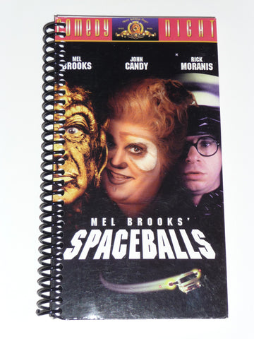 Spaceballs  - VHS Movie notebook
