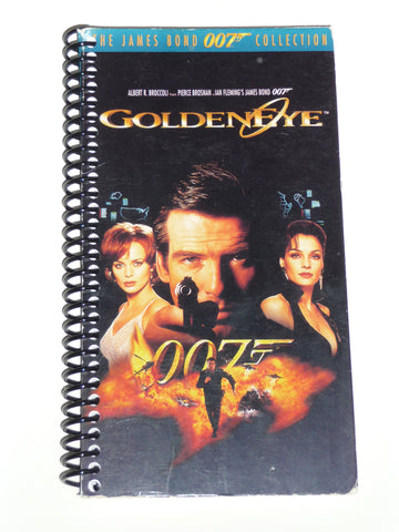 GoldenEye - VHS Movie notebook