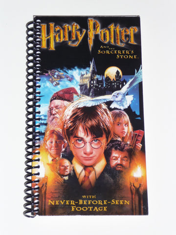 Harry Potter and the Sorcerer's Stone VHS Movie Notebook