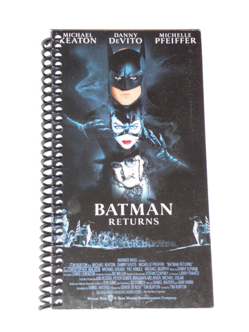 Batman Returns  - VHS Movie notebook