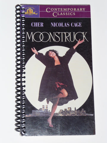 Moonstruck - VHS Movie notebook