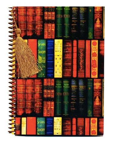 Antique Books notebook journal