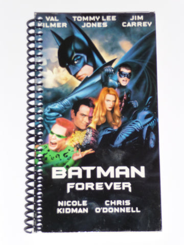 Batman Forever - VHS Movie Notebook