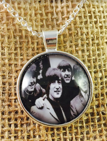Beatles Pendant Necklace