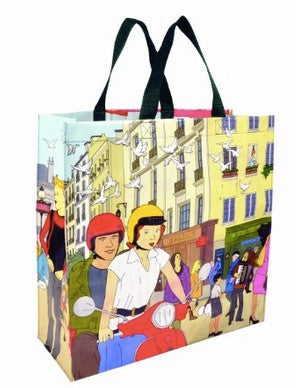 I Heart Paris shopper