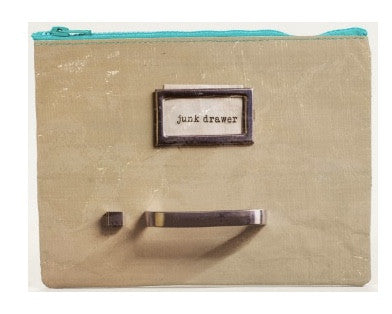 Junk Drawer Zipper Pouch