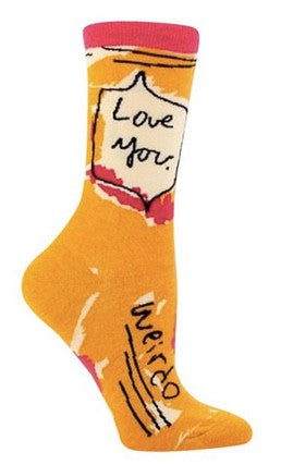 Socks - Love you Weirdo