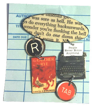 Book Brooch - Catcher in the Rye