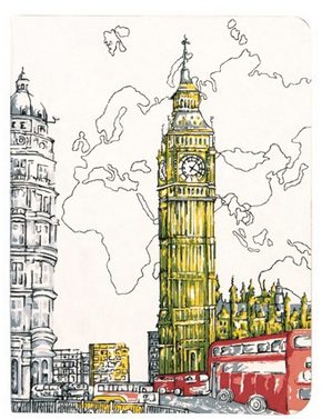 London Big Ben journal