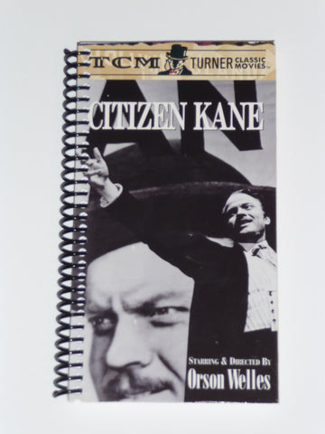 Citizen Kane (Version 2)  - VHS Movie Notebook