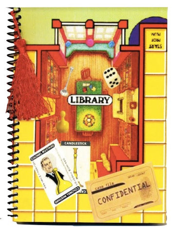 Clue Game notebook journal