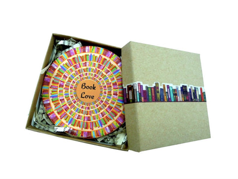 Book Love coasters
