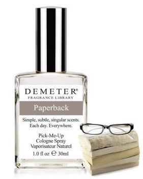Paperback Book Fragrance Cologne spray