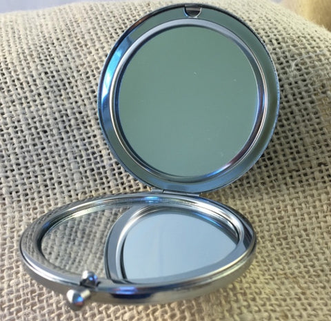 Sin on Wheels - Compact Mirror