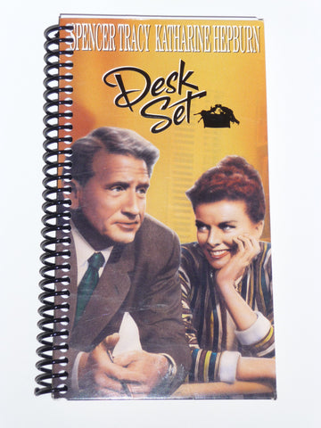 Desk Set  - VHS Movie notebook