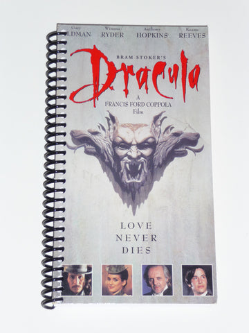 Dracula - VHS Movie notebook
