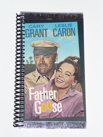 Father Goose - VHS Movie notebook
