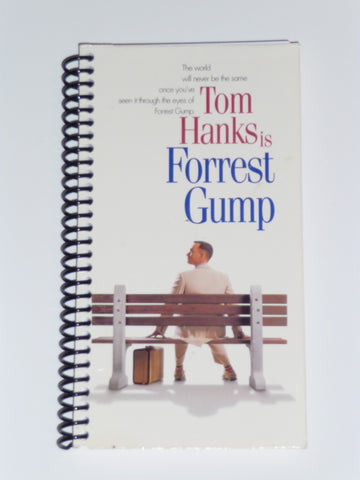 Forrest Gump - VHS Movie Notebook