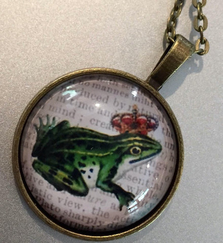 Frog Prince - Pendant Necklace