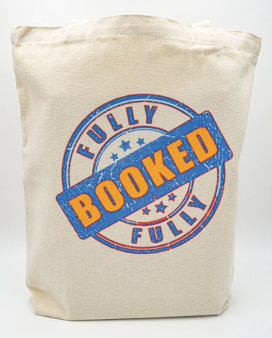 Fully Booked Stamp tote bag