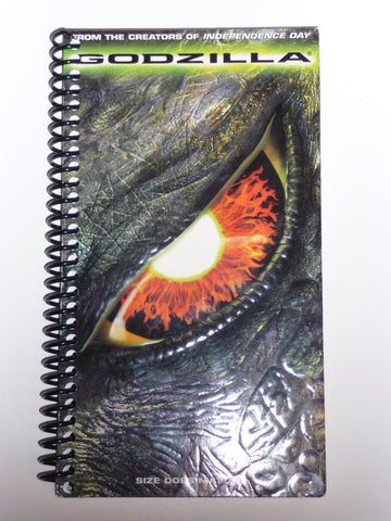 Godzilla - VHS Movie Notebook