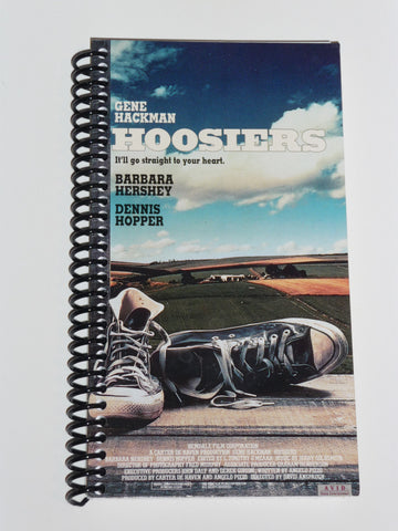 Hoosiers  - VHS Movie notebook