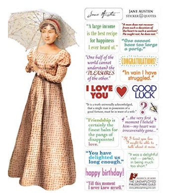 Jane Austen Greeting Card