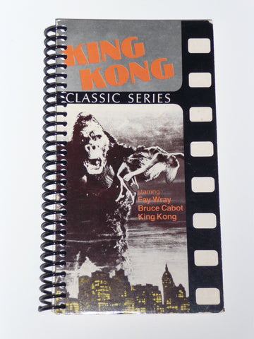 King Kong  - VHS Movie notebook