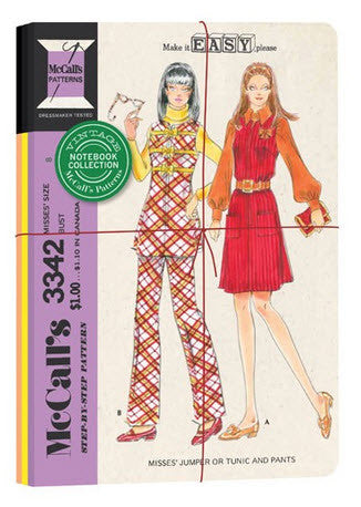 McCall's vintage patterns notebooks - set of 3