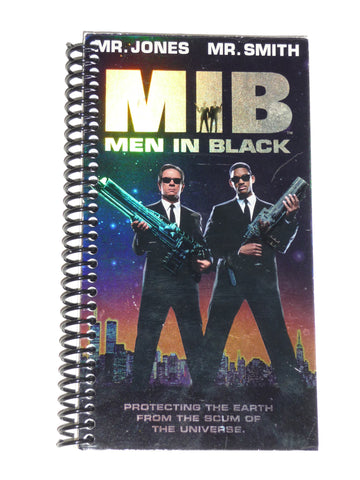 Men in Black (MIB)  - VHS Movie notebook