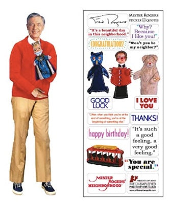 Mister Rogers greeting card