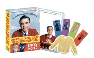 Mister Rogers Neighborhood Sticky Notes