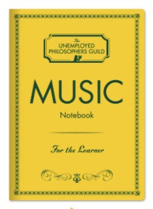 Music Notebook passport size