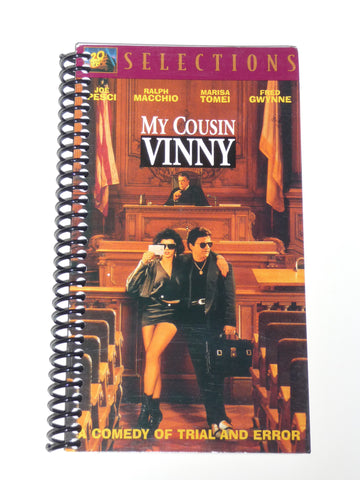 My Cousin Vinny - VHS Movie notebook